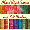 Hand Dyed Sateen and Ribbon