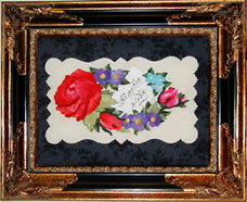 A Little Guide to Needleturn Applique framed Calling Card